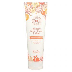 The Honest Company Face And Body Nourishing Lotion - Apricot Kiss - 8.5 Fl Oz.   Comprar Suplemento em Promoção Site Barato e Bom
