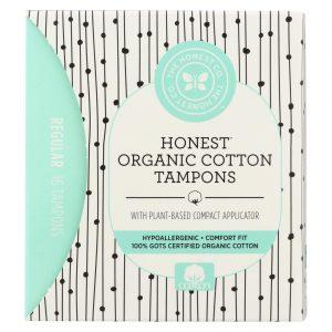 The Honest Company Cotton Tampon - Plant Based - Regular - 16 Count   Comprar Suplemento em Promoção Site Barato e Bom