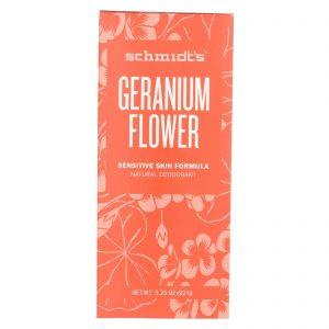 Schmidt's Deodorant Stick - Geranium Flower - 3.25 Oz   Comprar Suplemento em Promoção Site Barato e Bom