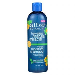 Alba Botanica Hawaiian Marula Miracle Shampoo - Therapy Moisture - 12 Fl Oz   Comprar Suplemento em Promoção Site Barato e Bom