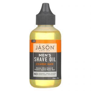 Jason Natural Products Shave Oil - Men's - Coarse - 2 Fl Oz   Comprar Suplemento em Promoção Site Barato e Bom