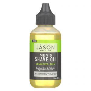 Jason Natural Products Shave Oil - Men's - Sensitive - 2 Fl Oz   Comprar Suplemento em Promoção Site Barato e Bom