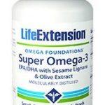 Life Extension Super Omega-3 EPA/DHA with Sesame Lignans & Olive Extract   240 easy-to-swallow softgels   Comprar Suplemento em Promoção Site Barato e Bom