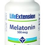 Life Extension Melatonin | 500 mcg, 200 vegetarian capsules   Comprar Suplemento em Promoção Site Barato e Bom