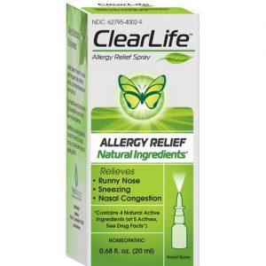 Spray Nasal ClearLife MediNatura Alívio da Alergia 20 ml   Comprar Suplemento em Promoção Site Barato e Bom