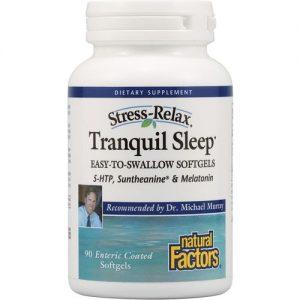 Natural Factors Estresse-Relax Tranquil Dormir - 90 Cápsulas em Gel   Comprar Suplemento em Promoção Site Barato e Bom