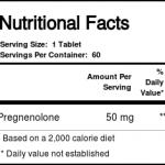 Nutricology Pregnenolona 50 mg 60 Tabletes   Comprar Suplemento em Promoção Site Barato e Bom