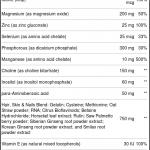 Futurebiotics Unhas de pele de Cabelo para homens 75 Tabletes   Comprar Suplemento em Promoção Site Barato e Bom