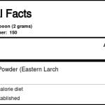 Vital Nutrients Arabinogalactan Powder - 300 Grams   Comprar Suplemento em Promoção Site Barato e Bom