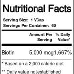 Bluebonnet Nutrition Biotina 5000 mcg 60 Cápsulas Vegetarianas   Comprar Suplemento em Promoção Site Barato e Bom