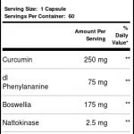 OxyLife Phenocane w / curcumina e DLPA 60 Cápsulas Vegetarianas   Comprar Suplemento em Promoção Site Barato e Bom