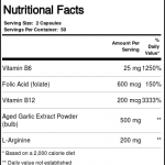 Kyolic Kyolic Formula 108 Extrato de alho B6 B12 Ácido fólico e L-Arginina 100 Cápsulas   Comprar Suplemento em Promoção Site Barato e Bom