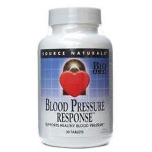Source Naturals Blood Pressure Response - 30 Tabletes   Comprar Suplemento em Promoção Site Barato e Bom