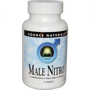 Source Naturals Male Nitro - 30 Tabletes   Comprar Suplemento em Promoção Site Barato e Bom