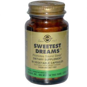 Solgar Sweetest Sonhos 30 Cápsulas Vegetarianas   Comprar Suplemento em Promoção Site Barato e Bom