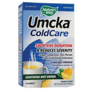 Nature's Way Umcka ColdCare Calmante Hot bebida de limão 10 Pacotes   Comprar Suplemento em Promoção Site Barato e Bom