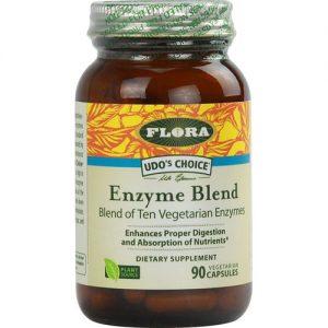 Flora De Udo escolha de enzimas digestivas Misture 90 Cápsulas   Comprar Suplemento em Promoção Site Barato e Bom