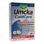 Nature's Way Umcka ColdCare mastigáveis de cereja 20 Tabletes   Comprar Suplemento em Promoção Site Barato e Bom