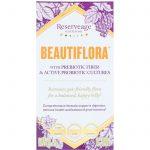 ReserveAge Nutrition, Beautiflora with Prebiotic Fiber & Active Probiotic Cultures, 60 Veggie Capsules   Comprar Suplemento em Promoção Site Barato e Bom