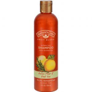 Nature's Gate Xampu Asian Pear e Chá Vermelho 12 fl oz   Comprar Suplemento em Promoção Site Barato e Bom