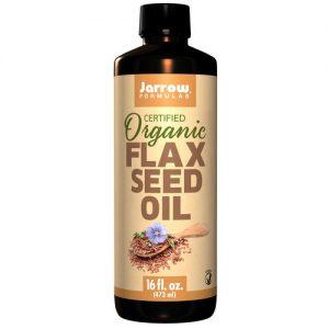 Jarrow Formulas Fresh Pressed Flaxseed Oil - 12 fl oz   Comprar Suplemento em Promoção Site Barato e Bom