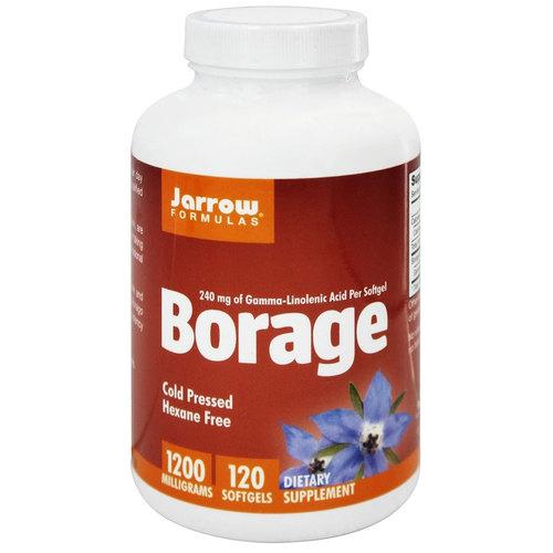 Jarrow Formulas Borage - 1200 mg - 120 Cápsulas em Gel   Comprar Suplemento em Promoção Site Barato e Bom