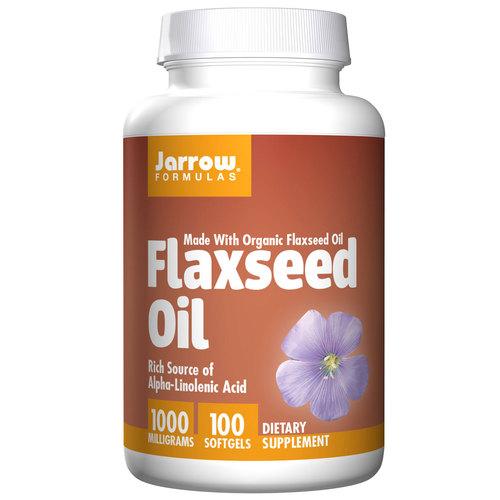 Jarrow Formulas Flaxseed Oil - 1,000 mg - 100 Cápsulas em Gel   Comprar Suplemento em Promoção Site Barato e Bom