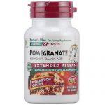 Nature's Plus Pomegranate, Libertação prolongada - 400 mg - 30 Vegetarian Tabletes   Comprar Suplemento em Promoção Site Barato e Bom