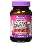 Bluebonnet Nutrition Super Fruit Pomegranate Whole Fruit Extract - 800 mg - 60 Cápsulas Vegetarianas   Comprar Suplemento em Promoção Site Barato e Bom