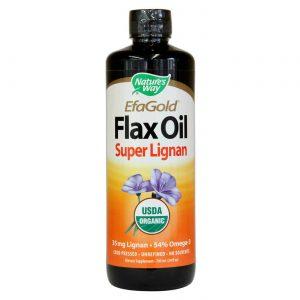 Nature's Way EFAGold Flax Oil - Super Lignan 24 oz   Comprar Suplemento em Promoção Site Barato e Bom