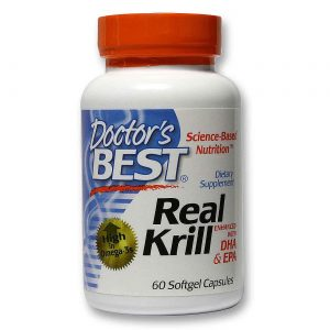 Doctor's Best Verdadeiro Krill com DHA e EPA 60 Géis   Comprar Suplemento em Promoção Site Barato e Bom