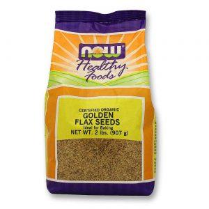 Now Foods Orgânico Ouro Sementes de linho 2 lbs   Comprar Suplemento em Promoção Site Barato e Bom