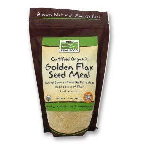 Now Foods Orgânico linho dourado farinha de semente de 12 oz   Comprar Suplemento em Promoção Site Barato e Bom