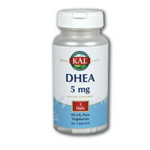 Kal DHEA 5 mg 60 Tabletes   Comprar Suplemento em Promoção Site Barato e Bom