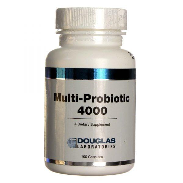 Douglas Labs Multi-Probiotic 4000 sem sabor 100 Cápsulas   Comprar Suplemento em Promoção Site Barato e Bom