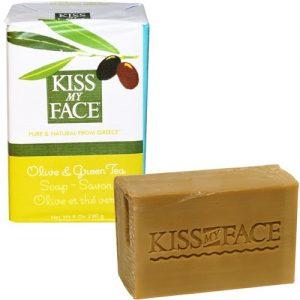 Kiss My Face Olive & Chá Verde Bar Soap 8 onças 3/PAK   Comprar Suplemento em Promoção Site Barato e Bom