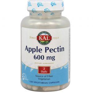 Kal Apple Pectin - 600 mg - 120 Cápsulas Vegetarianas   Comprar Suplemento em Promoção Site Barato e Bom
