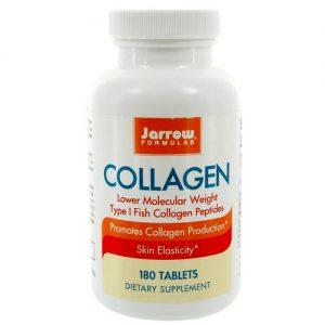 Jarrow Formulas Fish Collagen Type I Complexo - 180 Tabletes   Comprar Suplemento em Promoção Site Barato e Bom