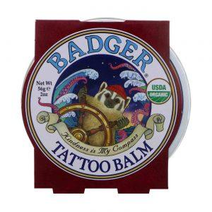 Badger Organic Tattoo Balm with Coconut & Tamanu Oil 56 g   Comprar Suplemento em Promoção Site Barato e Bom