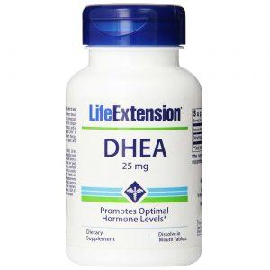 DHEA 25 mg Life Extension 100 Cápsulas   Comprar Suplemento em Promoção Site Barato e Bom