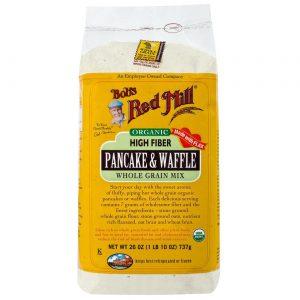 Bobs Red Mill Orgânico alta fibra Pancake e Waffle misturar 4 - 26 onças Bags   Comprar Suplemento em Promoção Site Barato e Bom