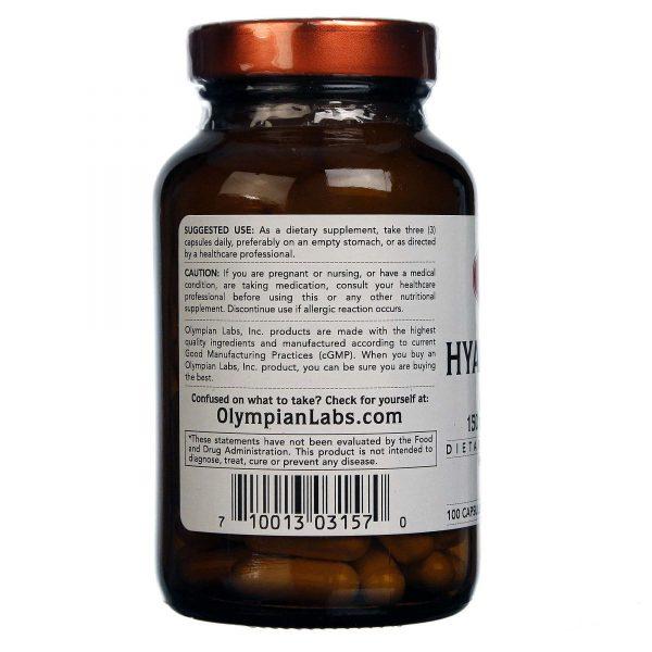 Olympian Labs Ácido Hialurônico 100 Cápsulas   Comprar Suplemento em Promoção Site Barato e Bom