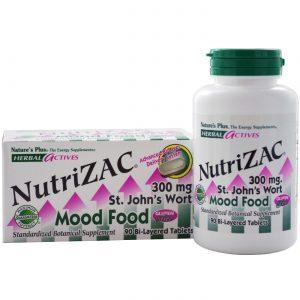 Nature's Plus Nutri-ZAC Mood Food 90 Tabletes   Comprar Suplemento em Promoção Site Barato e Bom