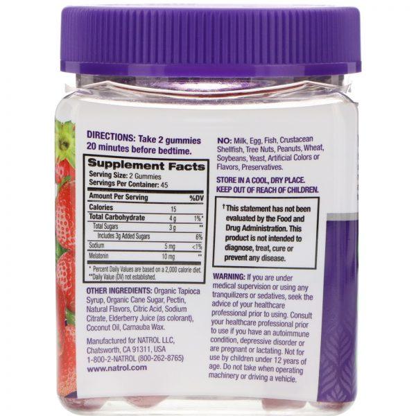 Natrol, Gomas, Melatonina, Morango, 10 mg, 90 unidades   Comprar Suplemento em Promoção Site Barato e Bom
