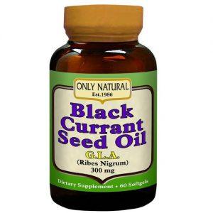 Only Natural Óleo de semente de groselha negra 60 Cápsulas   Comprar Suplemento em Promoção Site Barato e Bom