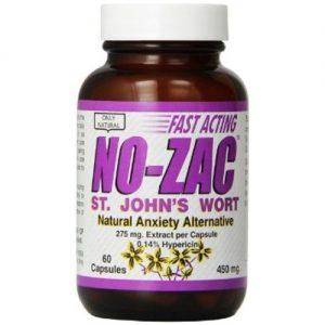 Only Natural No-Zac St. John's Wort - 275 mg - 60 Cápsulas   Comprar Suplemento em Promoção Site Barato e Bom