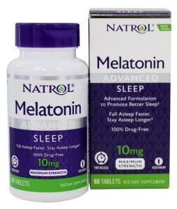 Melatonina com Liberação Programada para Sono Profundo Potência Máxima 10 mg. - 60 comprimidos de Natrol   Comprar Suplemento em Promoção Site Barato e Bom