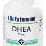 DHEA Promove Níveis de Hormônio Ideais 25 mg. - 100 comprimidos de Life Extension   Comprar Suplemento em Promoção Site Barato e Bom