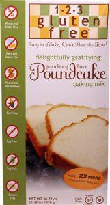 123 Gluten Free Delightfully Gratifying Poundcake Mix Hint of Lemon -- 38.72 oz   Comprar Suplemento em Promoção Site Barato e Bom