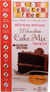 123 Gluten Free Deliriously Delicious™ Cake Mix Devil's Food Chocolate -- 12.88 oz   Comprar Suplemento em Promoção Site Barato e Bom